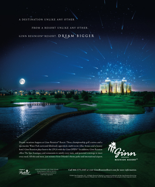 Ginn Reunion Resort Ad
