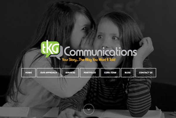 TKG Communications Website