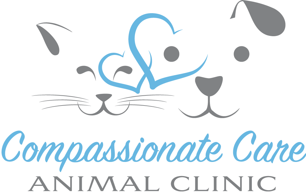 Compassionate Care Animal Clinic brand identity design - vet logo