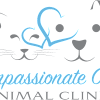 Compassionate Care Animal Clinic brand identity design - vet logo