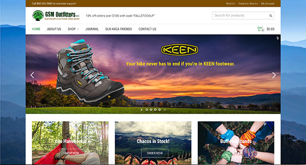 GSM Outfitters Website