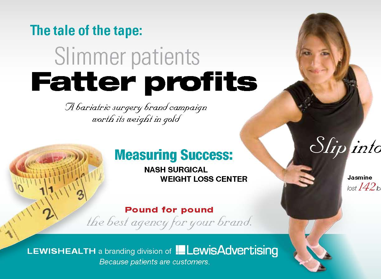 Surgical Weight Loss Direct Mail Hall Or Nothing Designs